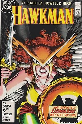 Hawkman #6 (Jan 1987, DC Comics)***VF-