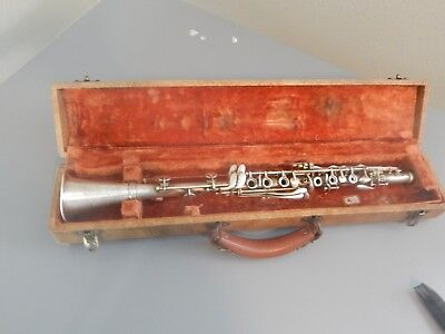 "Vintage Clarinet Collegiate by Holton 23"" Metal Prop from TNT The Librarians"
