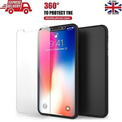 Luxury Ultra Slim Shock Proof Hybrid 360 Case Cover For Apple iPhone Xs Max