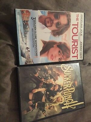 2 Dvds Sucker Punch And The Tourist