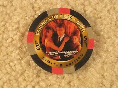Casino Chip C2 from 1999 Inkworks James Bond The World Is Not Enough Card Series