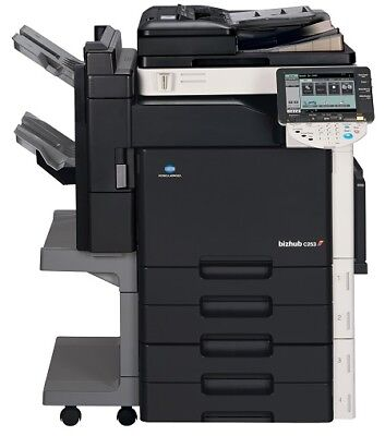 **cheap!* Konica Minolta C253 + Collator Colour A3 A4 Photocopier Printer Office