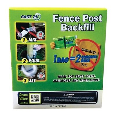 Fence/Multi Post Backfill Fast 2k Royal Adhesives Equals 2 Bags Of Concrete