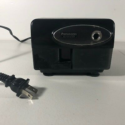 Panasonic Auto-Stop Electric Pencil Sharpener Model KP-310