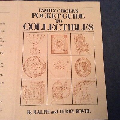 Vintage Family Circle's Pocket Guide to Collectibles by Ralph and Terry Kovel