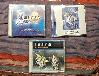 Final Fantasy Music CD Collection FFX Official Soundtrack
