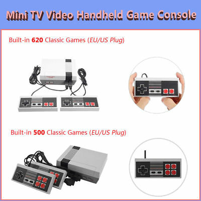 Classic TV Video Handheld Game Console Built-in 620 Classic Games for NES