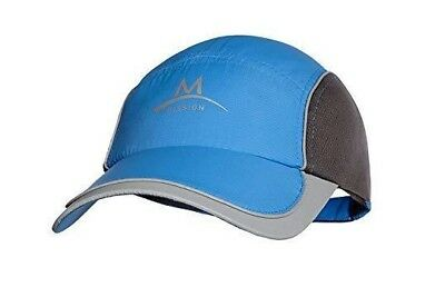 Mission Enduracool Cooling Performance Hat Cap Adjustable Blue/Grey New w/ Tags