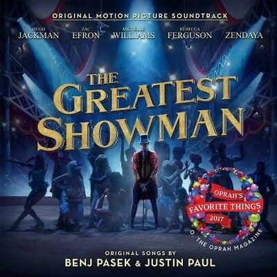 The Greatest Showman Original Soundtrack OST [CD] Sealed Case Cracked