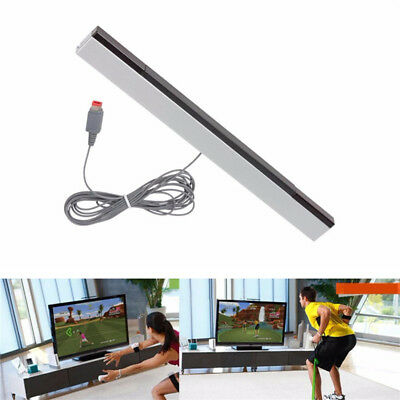 Wired Infrared Ultra Sensor Bar Extended Play Range for Nintendo Wii Control