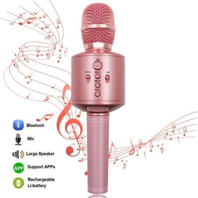 Protable Bluetooth Karaoke Microphone Wireless MODAR Dual Speakers...