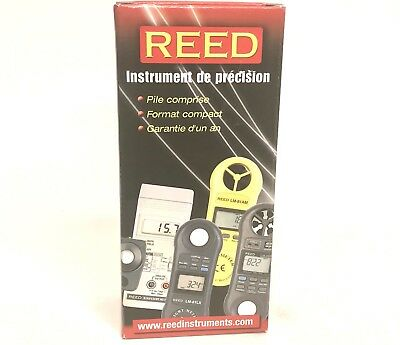 Reed LM-8000 Reed 4 in 1 Pocket Illuminometer Hygrometer Thermo Anemometer