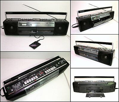 SONY CFS-W401S 4 Band Radio Double Stereo Cassette Boombox