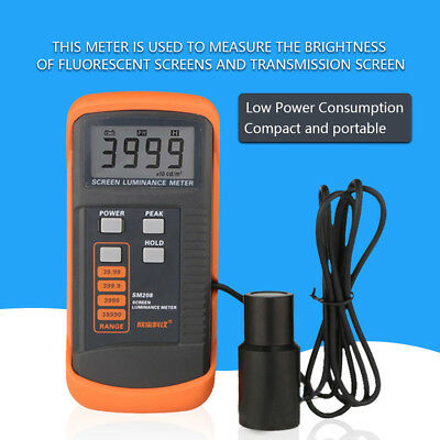 SM208 Screen Brightness Meter Portable Luminance Meter +Mini Light Detector wtt