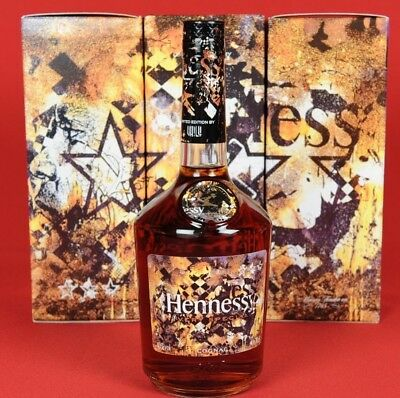 1 x Hennessy V.S. Limited Edition by Vhils VS very special New 2018 Cognac 700ml