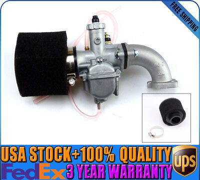 26mm Carburetor VM22 Carb Air Filter Intake For 110 125 140 cc Pit Dirt Bike New