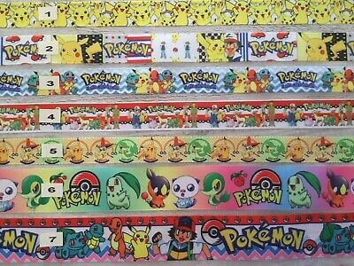 Pokemon Ribbons sold by 2M all designs see listing for details- Craft