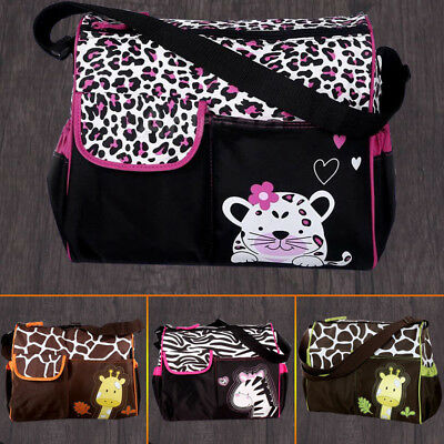 AU4 styles Baby Diaper Nappy Mummy Changing Handbag Shoulder Bag with Mat Travel