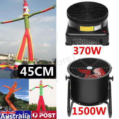 370W/1500W Electric Blower Fan for Inflatable Dancing Tube Man Puppet Guy Toy