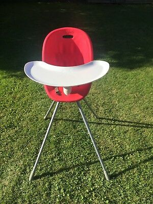 Phil And Teds Poppy High Chair - Red