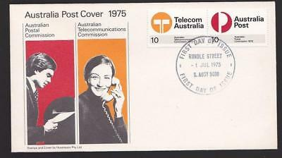 Australia 1975 First Day Cover FDC - New Postal & Telecommunications Commission.