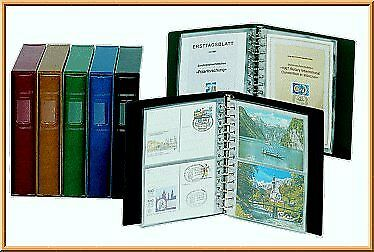 Lindner 811 Crystal clear refill pages Postcard Album CLASSIC