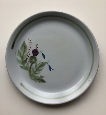 Buchan Pottery Thistle Decorated 10 1/2ins  Dinner Plate