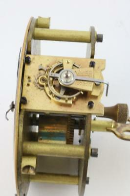 FRENCH LEVER PLATFORM ESCAPEMENT & free drum clock WORKING ORDER carriage clock