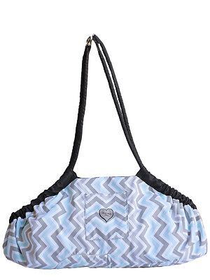 Grocery Cart Cover-5 in 1Play Mat,Changing Pad,Diaper Bag, Etc.PEEK-A-BLUE
