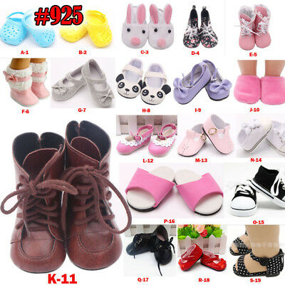 """US STOCK Doll Clothes Shoes Xmas Gift For 18"""""""
