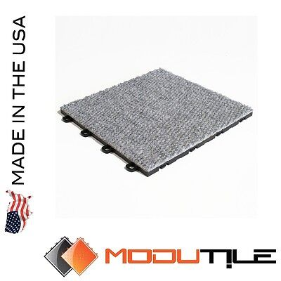Trade Show Carpet Tile Gray - Made In The USA