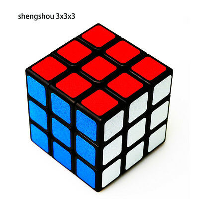 Shengshou 3x3x3 Speed Magic Cube Professional Ultra-smooth Sticker Twist Puzzle
