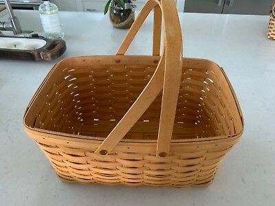 Longaberger Large Market Basket  #12