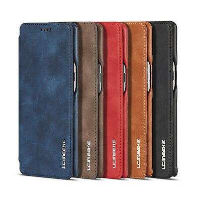 Full Protect Phone Case Cover Soft Leather For Samsung Galaxy Note8 S9 S8 Plus