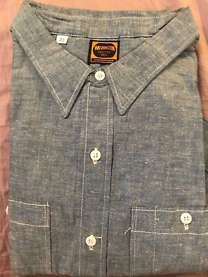 NOS Vintage Sanforized Washington Dee Cee Work Shirt