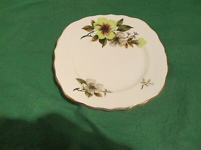 Royal Vale Bone China Tea Plate. Ridgway Potteries Ltd. H 46 6