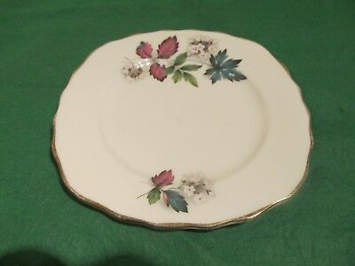 Royal Vale Bone China Tea Plate. Ridgway Potteries -  Numbers underneath: A 46 5