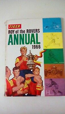 Vintage Tiger Roy Of The Rovers Annual 1966