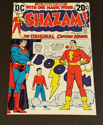 Shazam #1 🗝 (9.6) Feb 1973 DC Comics Super High Grade Hot Book Nearly Perfect