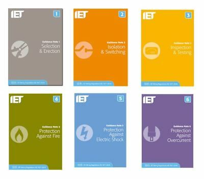 IET Guidance Note 1-6 18th Edition