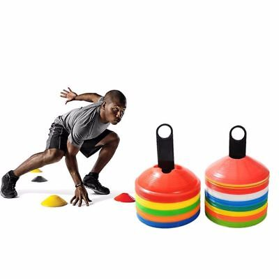 Cones Marker Soccer Football Sports Discs Training Tools 10pcs 19cm 7.41inch New
