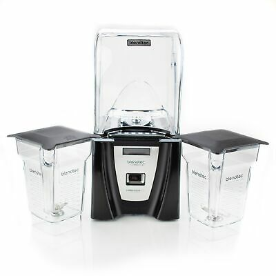 Blendtec Commercial Connoisseur 825 Blender + 2 FourSide Jars
