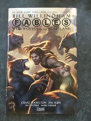 Fables ,mere wolves In The Heartland , Hardback First Print