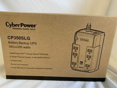 Cyberpower Battery Backup Ups Cp350Slg Brand New In Box