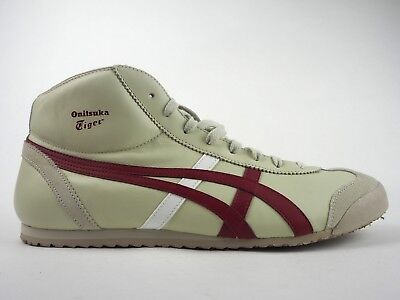 buy online cf306 5e9da MENS ONITSUKA TIGER Mexico Mid Runner HL328 0226 Casual Cream Lace Up  Trainers