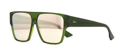 9a9e97af78 CHRISTIAN DIOR CHROMIC Sunglasses Green Gold Mirrored LMM9G ...