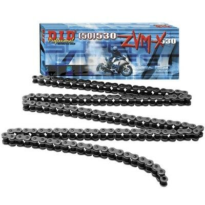 Suzuki GSX1400 DID ZVM SUPER HEAVY DUTY GREY X-Ring Chain 530ZVMX 116