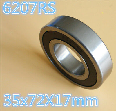 6305-2RS Ball Bearing 2 Side Rubber Seals Deep Groove 62x15x17mm 6305RS New