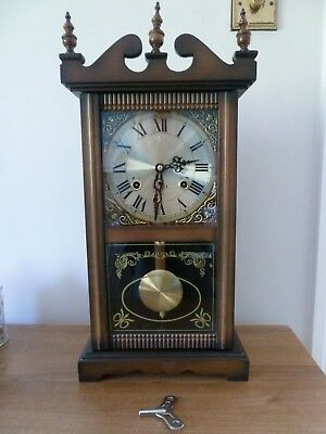 Vintage 31 Day Wall Clock - Never Used - GET YOUR HOME READY FOR CHRISTMAS!