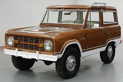 1976 FORD BRONCO UNCUT! STOCK. GORGEOUS PS PB 4x4 CONVERTIBLE